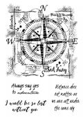 Woodware - Compass - Clear Magic Singles Stamp - FRS695